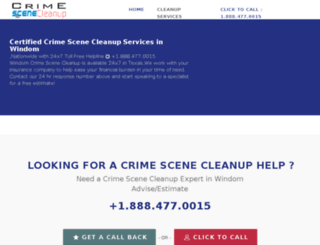 windom-texas.crimescenecleanupservices.com screenshot