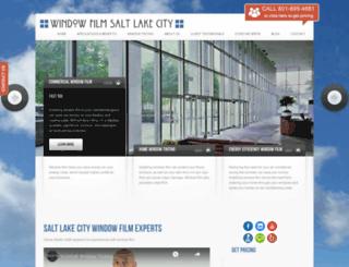 windowfilmsaltlakecity.com screenshot