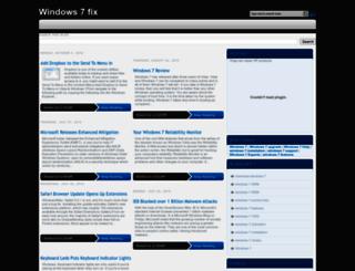 windows-7-fix.blogspot.com screenshot