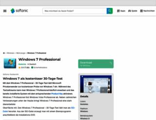 windows-7-professional-64bit.softonic.de screenshot