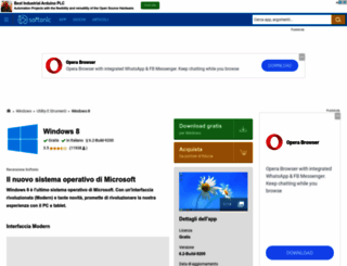 windows-8.softonic.it screenshot