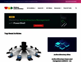 windows-active-directory.com screenshot