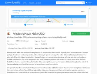 windows-movie-maker-2012.jaleco.com screenshot