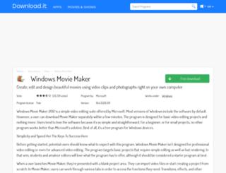 windows-movie-maker.jaleco.com screenshot