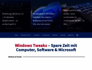 windows-tweaks.info screenshot