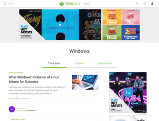windows.ittoolbox.com screenshot