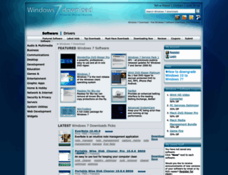windows7download.com screenshot