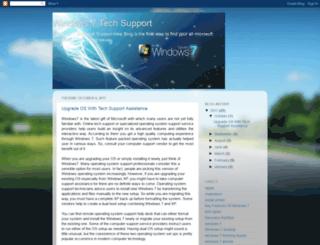 windows7techsupport.blogspot.com screenshot