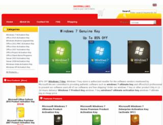 windows7ultimateactivationkeys.com screenshot