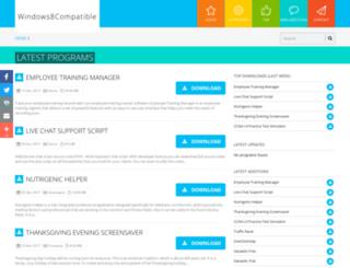 windows8compatible.com screenshot