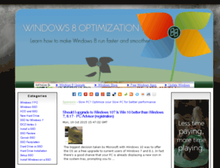 windows8optimization.org screenshot