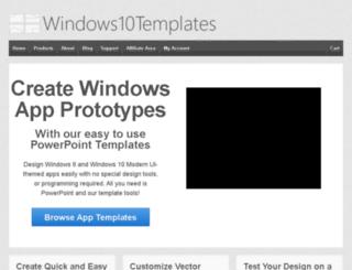 windows8templates.com screenshot