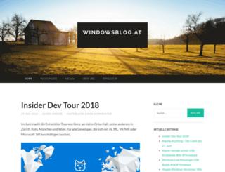windowsblog.at screenshot
