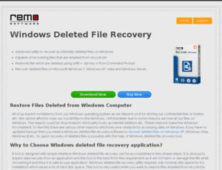 windowsdeletedfilerecovery.com screenshot