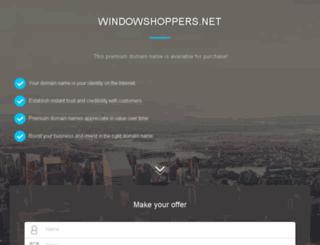 windowshoppers.net screenshot