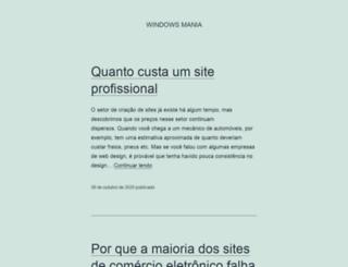 windowsmania.com.br screenshot