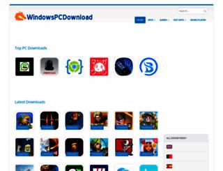 windowspcdownload.com screenshot