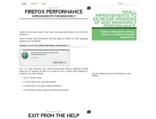windowsperformance.blogopogo.com screenshot