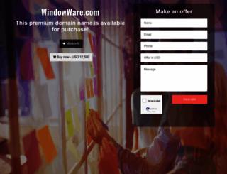 windowware.com screenshot