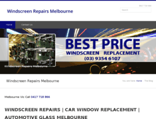 windscreenrepairsmelbourne.net.au screenshot