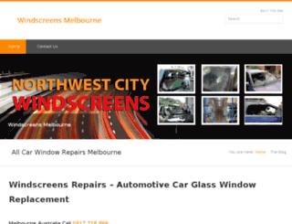 windscreensmelbourne.net.au screenshot