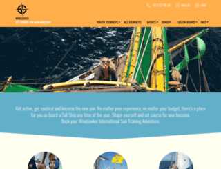 windseeker.org screenshot