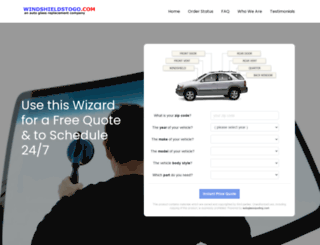 windshieldstogo.com screenshot