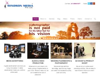 windsonmedia.co.in screenshot