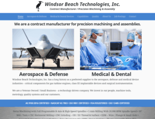 windsorbeach.com screenshot