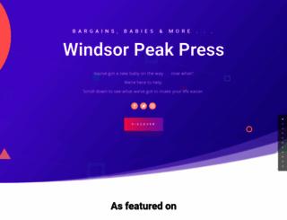 windsorpeak.com screenshot