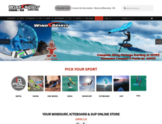 windspirit-direct.com screenshot