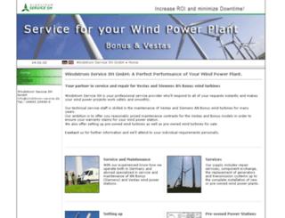 windstromservice.de screenshot