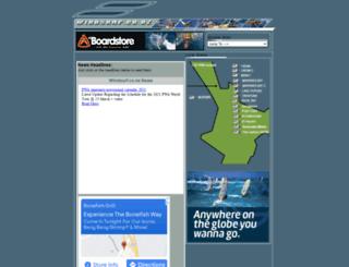 windsurf.co.nz screenshot