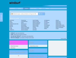 windsurf.startkabel.nl screenshot