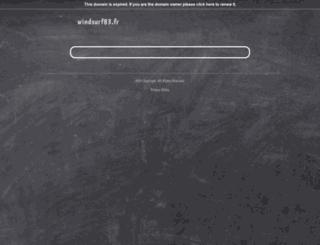 windsurf83.fr screenshot
