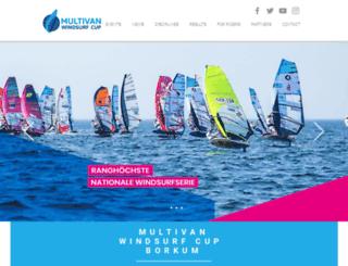 windsurfcup.de screenshot
