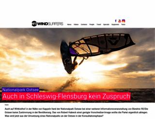 windsurfers.de screenshot