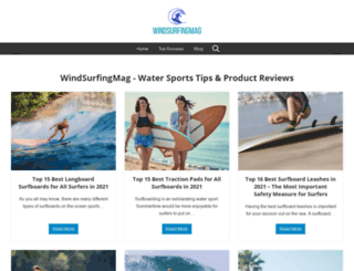 windsurfingmag.com screenshot