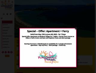 windsurfvillage.it screenshot