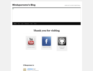 windupurnomo.wordpress.com screenshot