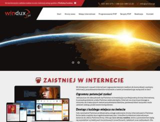 windux.pl screenshot