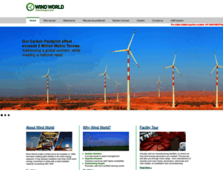 windworldindia.com screenshot