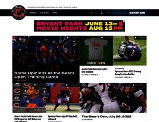 windycitygridiron.com screenshot