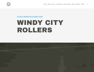 windycityrollers.com screenshot