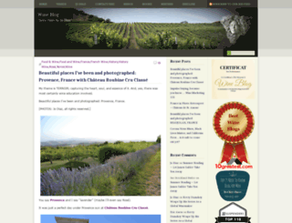 wine-blog.org screenshot