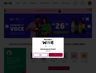 wine.com.br screenshot