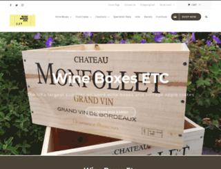 wineboxesetc.com screenshot