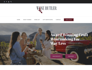 winebutler.ca screenshot