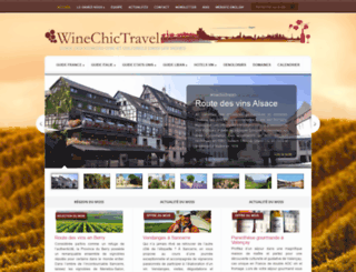 winechictravel.fr screenshot