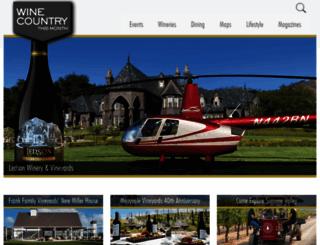 winecountrythisweek.com screenshot